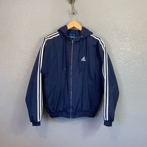 Vintage adidas puffer jacket size small